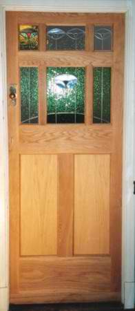picture of an oak door